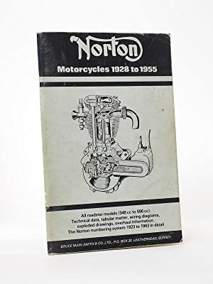 Norton Motorcyles 1928-1955, All Roadster Models (348cc to 596cc)