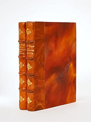 [ Nice set of 2 books Coll. of British authors, Tauchnitz Leipzig. In leather bindings ] Extract ...