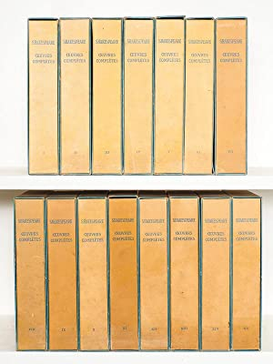 Oeuvres Complètes (15 Tomes - Complet) Tome: SHAKESPEARE ; LEROY,