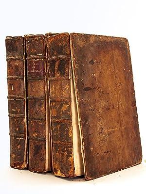 Oeuvres de Monsieur de Montesquieu (3 Tomes: MONTESQUIEU, Charles Louis