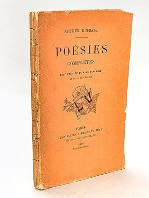 Poésies complètes [ Edition originale ]: RIMBAUD, Arthur ;