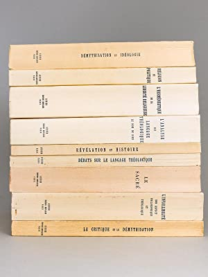 [ Lot de 9 Volumes de Colloques du Centre International d'Etudes Humanistes ] La Critique de la d...