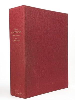 Lettres autographes composant la collection de M. Alfred Bovet , décrites par Etienne ...