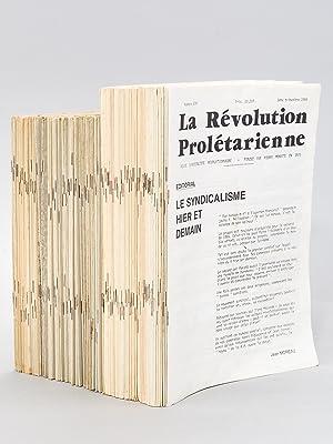 La Révolution Prolétarienne , revue syndicaliste révolutionnaire fondée...
