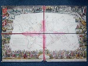 Voyage aux Colonies se jouant avec un dé et six navires - Game of Voyages of the Colonies. (...