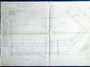 Compagnie des Docks et Entrepôts de Marseille. Plan général des é...
