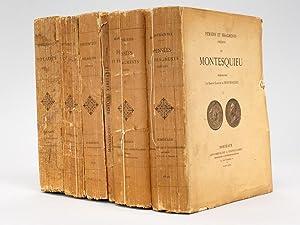 Pensées et Fragments inédits de Montesquieu (2: MONTESQUIEU ; [