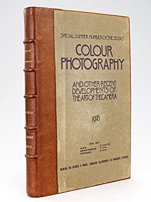 Colour Photography and other recent developments of the Art of The Camera 1908. Special Summer nu...