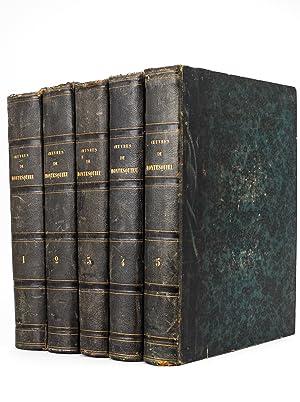Oeuvres de Montesquieu (5 Tomes - Complet): MONTESQUIEU