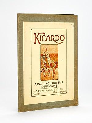 Kicardo. A dashing football card game.: Collectif