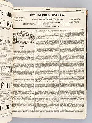 La Semaine. Encyclopédie de la Presse périodique avec gravures et illustrations. Ann&...