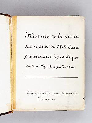 biographies: Manuscrits & Papiers anciens - AbeBooks