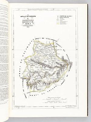 Atlas de Espana de Bachiller. Coleccion de cartas geograficas de todas las provincias de Espana, ...