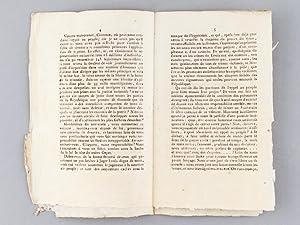 Discours d'André Dumont, d'Oisemont, Député du Département de...