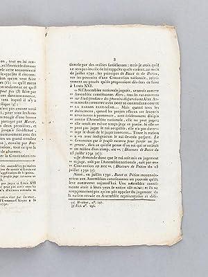 Opinion de Philippe-Antoine Merlin, de Douai, Député du Département du Nord, ...