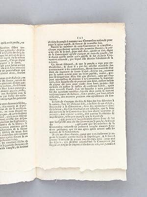 Un mot, et quelques observations, de la part de Claude-Lazare Petit-Jean, Député du d...