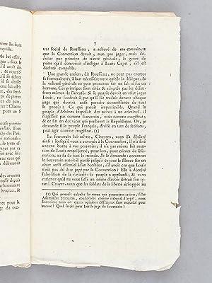 Opinion d'Etienne Cledel, Député du Département du Lot, sur le Jugement ...