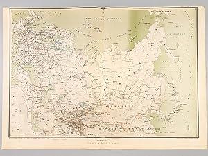 Carte de l'Empire Russe: LAMBIN, Capitaine ; GODELIER, Commandant