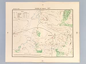 Carte : Position de Plewna 1877 (Echelle 1/50000) [ Plevna ]: Collectif