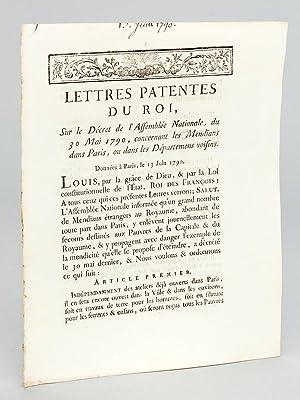 Lettres Patentes du Roi, sur le Décret de l'Assemblée Nationale, du 30 Mai 1790,...