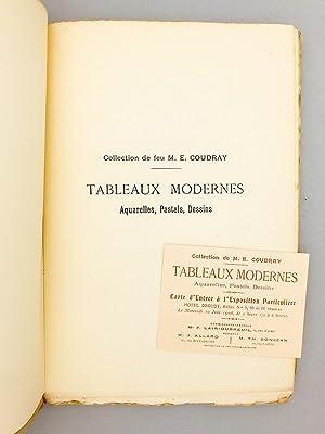 Collection de feu M. E. Coudray. Catalogue des Tableaux Modernes ( Hôtel Drouot, 12 et 13 ...
