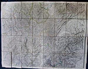 Carte ] Centre Est de la France : Belfort - Bâle - Auxerre - Bourges - Aurillac - Valence - ...