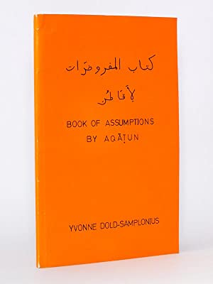 Book of Assumptions by Aqatun. Texte-critical edition [ signed copy ]