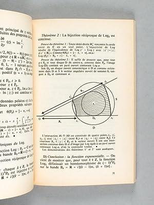 Calcul différentiel complexe [ exemplaire dédicacé ]: LEBORGNE, Daniel