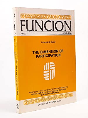Funcion. Num. 7 Junio 1988 : Hansjakob Seiler : The Dimension of Participation. [ exemplaire dédi...
