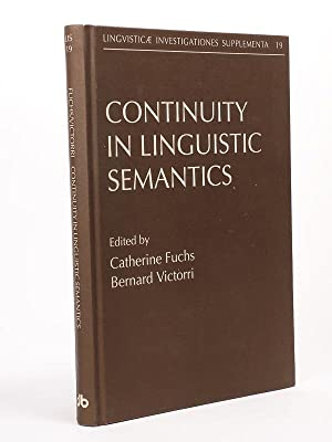 Continuity in linguistic Semantics.