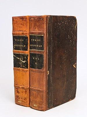 M. Tullii Ciceronis Epistolarum Libri XVI ad: CICERO, Marcus Tullius