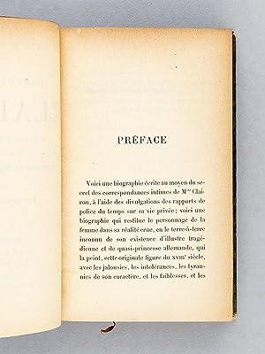 Mademoiselle Clairon d'après ses correspondances et les rapports de police du temps.: ...