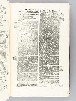 Les Loix Civiles dans leur Ordre Naturel, Suivies du Droit Public, &c. (2 Tomes - Complet): ...