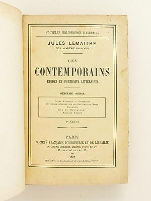 Les Contemporains. Etudes et Portraits littéraires. Sixième Série : Louis ...