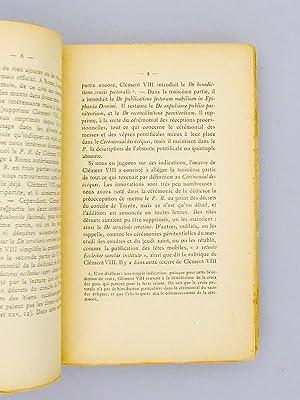 Etudes de Liturgie et d'Archéologie Chrétienne.: BATIFFOL, Pierre