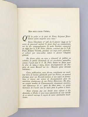 Les Dix commandements de l'Institut.: Institut des Frères des Ecoles Chrétiennes ; EMILE, ...