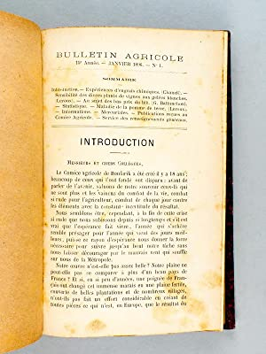 Bulletin Agricole [ Comice Agricole de Boufarik - Algérie ] Années 1896 - 1897 - 15e ...