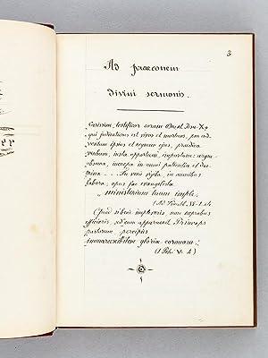 Instructions, Prônes, Allocutions et autres Discours prêchés à ...