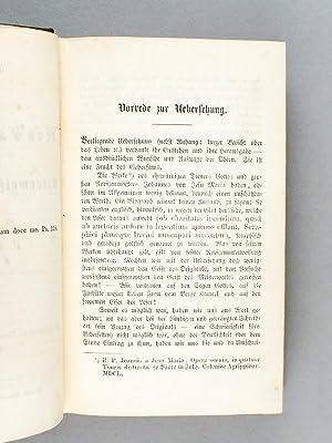 Instructio Novitiorum oder Unterweisung de Novizen. Verfasst von dem ehrwürdigen P. F. Joannes...