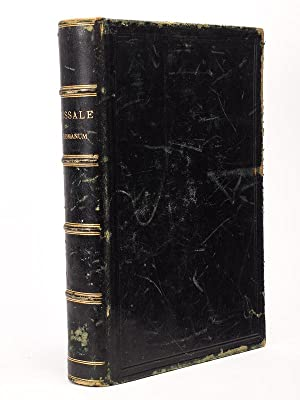 Missale Romanum, ex decreto Sacrosancti Concilii Tridentini: Collectif