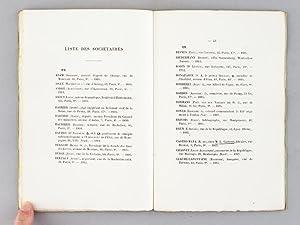 Les Cent Bibliophiles. Annuaire 1914: Collectif