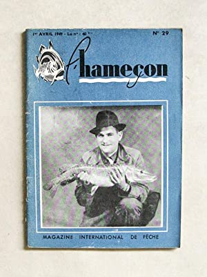 L'Hameçon. Magazine International de Pêche. N°21, 22, 23, 29, 35, 36, 37, 38,...