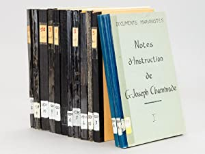 Notes d'instruction de G. Joseph Chaminade (13 Tomes - Complet)