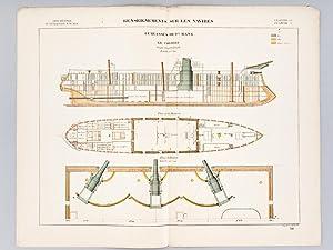 Aide-Mémoire d'Artillerie Navale. Planches. 3e Livraison 1878 (Chapitre VI : ...