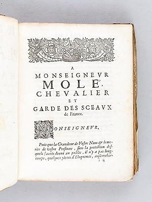 Recueil de divers Plaidoyers et Harangues, prononcez au Parlement par Me Antoine Le Maistre: LE ...