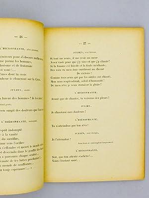 Julien ou La Vie du Poète. Poème lyrique en un Prologue, quatre Actes et huit ...