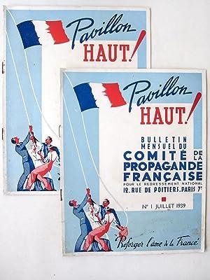 Pavillon Haut ! Bulletin Mensuel du Comité de Propagande Française pour le ...