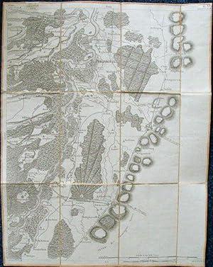 Carte de la Principauté des Deux-Ponts jusqu'à Landau et Lauter-bourg ; Carte de...