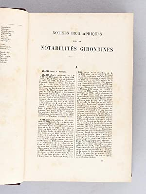 Statistique Générale du Département de la Gironde. Tome III Première ...