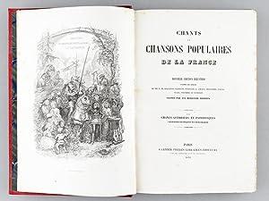 Chants et Chansons Populaires de la France (2 Tomes - Complet). Tome 1 : Chansons choisies. ...